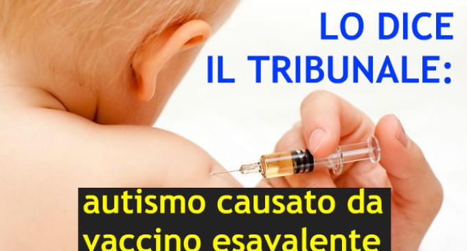 Autismo causato dal vaccino, vitalizio al bambino.
