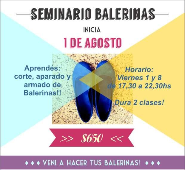 seminario balerinas agosto