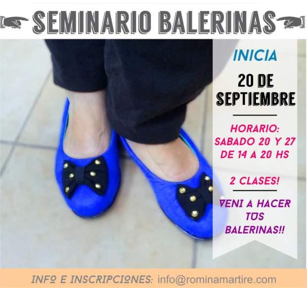 seminario balerinas septiembre