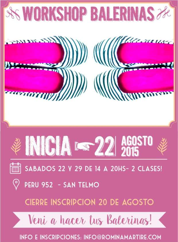 flyer balerinas  agosto 2015
