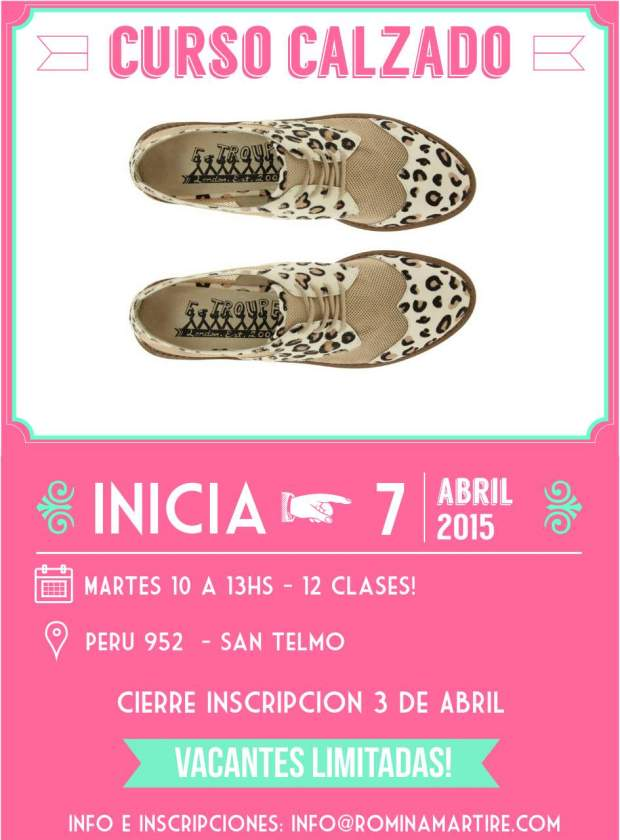 curso calzado san telmo abril 2015