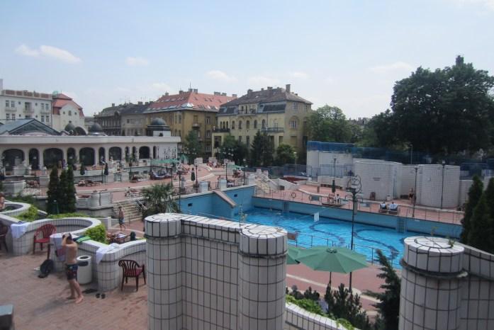 Complejo termal, Budapest, Hungría, 2012