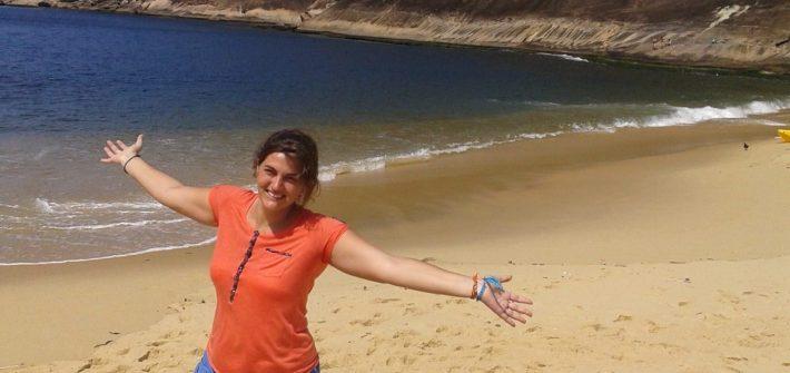 @rominitaviajera en Playa Vermelha, Rio de Janeiro, Brasil, 2014