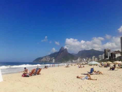 Playa de Ipanema, Rio de Janeiro, Brasil, 2014