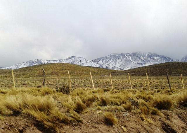 Camino a Tupungato Mendoza
