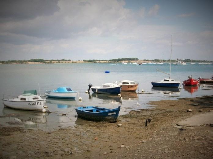 Isla de Vannes, Francia, Agosto 2010 - viajarcaminando.org