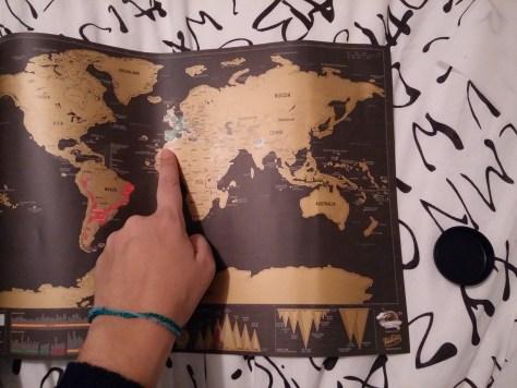 mapamundi para rascar