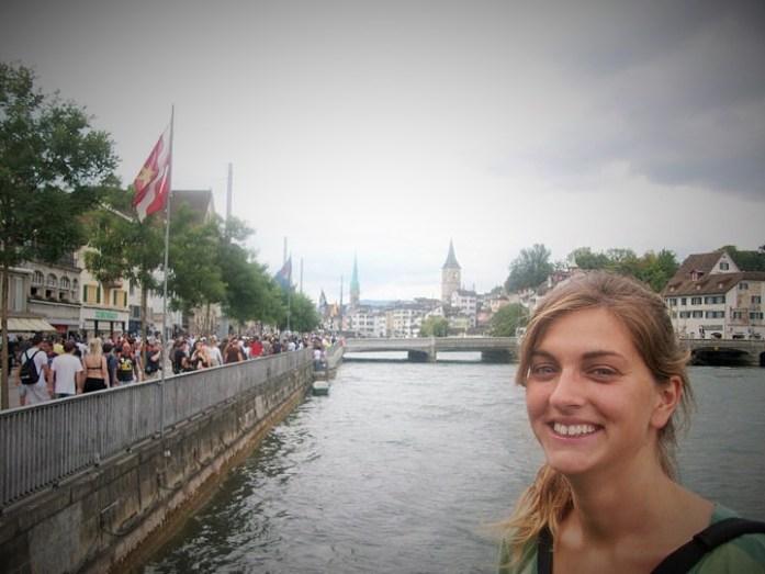 @rominitaviajera en Zurich, Suiza, Agosto 2010 - viajarcaminando.org