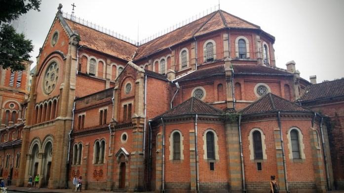 Catedral de Notre Dame, Ho Chi Minh, Vietnam, viaje 2015