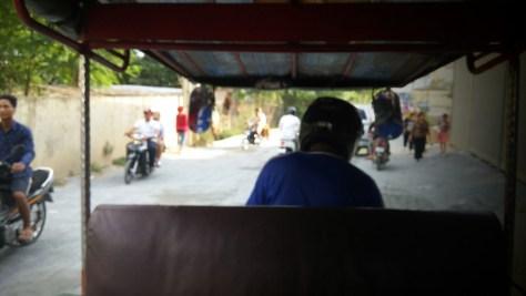 Vista desde el Tuk-tuk, Phnom Penh, Camboya, Octubre 2015