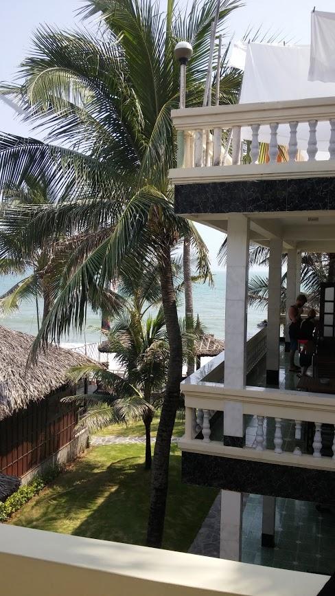 Vistas desde el Hotel Mui Ne Backpacker Resort, Mui Ne, Vietnam, 2015