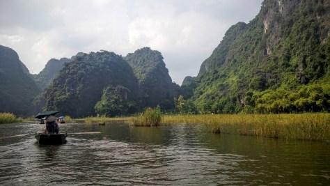 Paisaje de Tam Coc, Ninh Binh, Vietnam, 2015