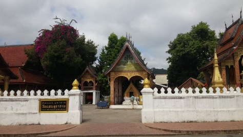 Templo Sensoukharam, Luang Prabang, Laos, 2015