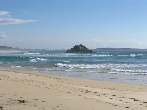 Playa de las Rías Baixas, Galicia, España, 2008