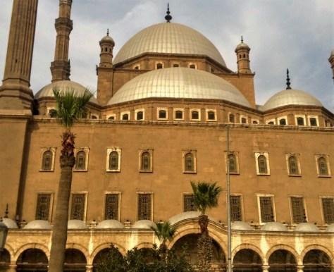 Mezquita de Muhamed Ali, Mezquita de alabastro, Ciudadela, El Cairo, Egipto, marzo 2016