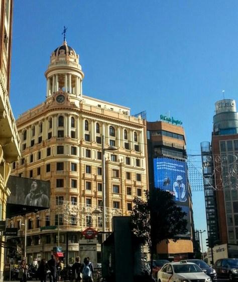 Callao, Gran Vía, Madrid, España, 2015 | viajarcaminando.org