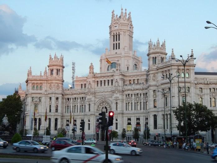 Palacio de Comunicaciones, Madrid, España, 2013 | viajarcaminando.org