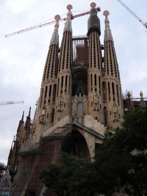La Sagrada Familia, 2013 | viajarcaminando.org