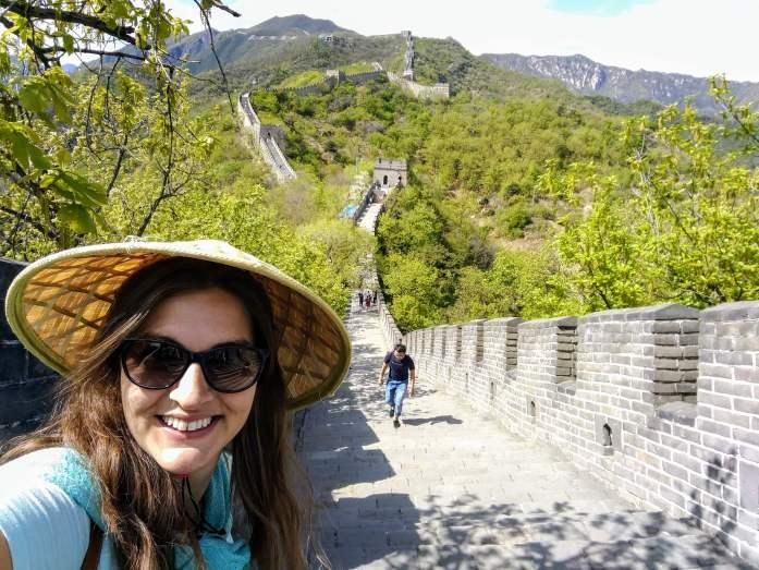 @rominitaviajera en La Gran Muralla China, Pekín, China, 2017