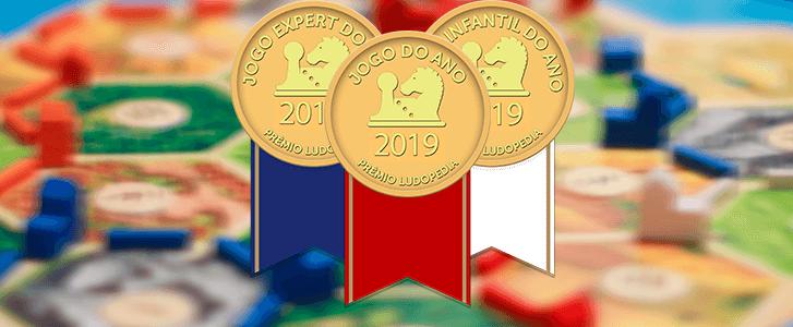 Selos prêmios ludopedia