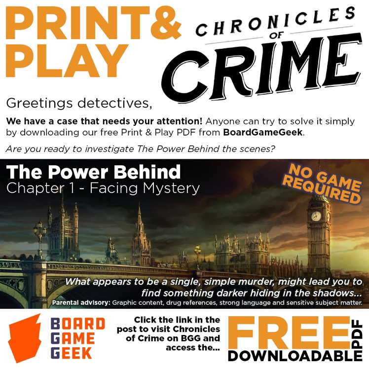 Chronicles of Crime Print&Play
