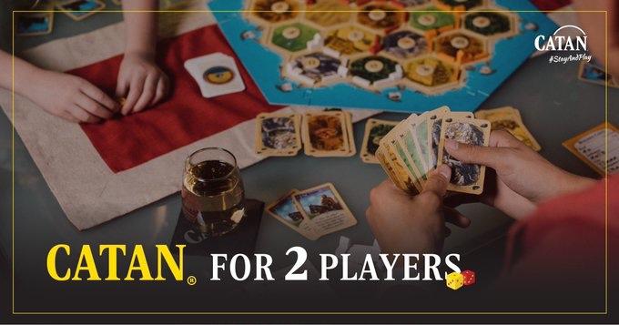 Banner Catan 2 jogadores