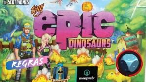 teaser Tiny Epic Dinosaurs - Como Jogar