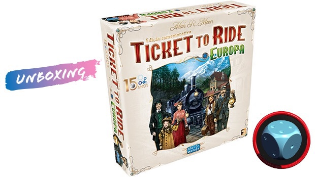 Read more about the article Ticket to Ride Europa 15 Anos – Unboxing