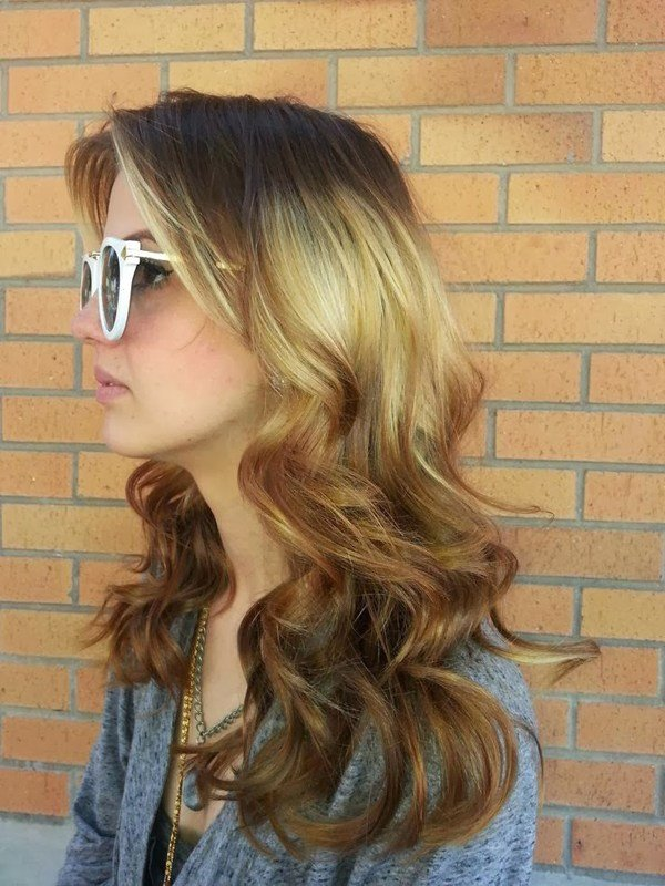 The Best Hot New Hair Color Trend Splashlight Women Hairstyles Pictures