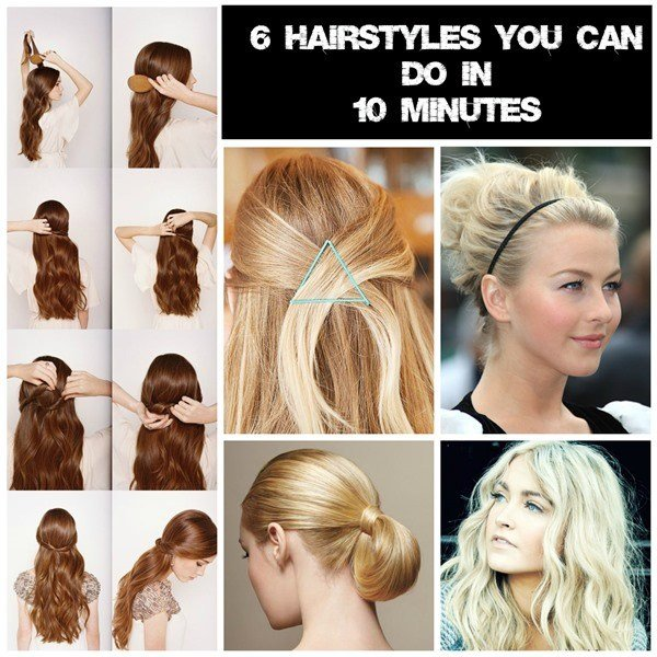 The Best 6 Easy Hairstyles For Mums On The Go Pictures