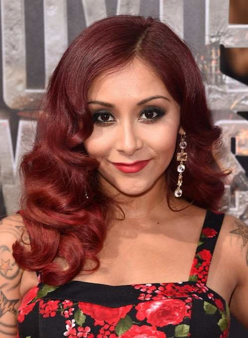 The Best Snooki Hairstyles 30 Photos With Hair Color Ideas Pictures