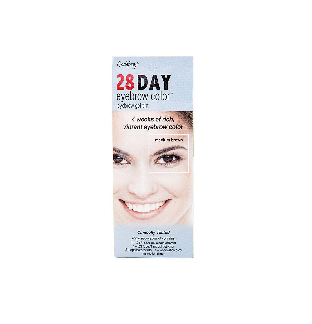 The Best Godefroy 28 Day Eyebrow Color Tint Medium Brown Rite Aid Pictures