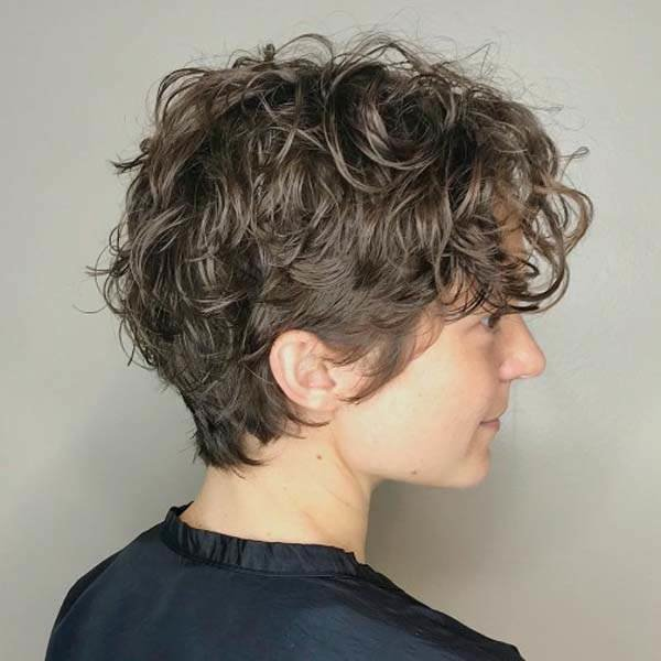 The Best 141 Easy To Achieve And Trendy Short Curly Hairstyles For 2019 Pictures