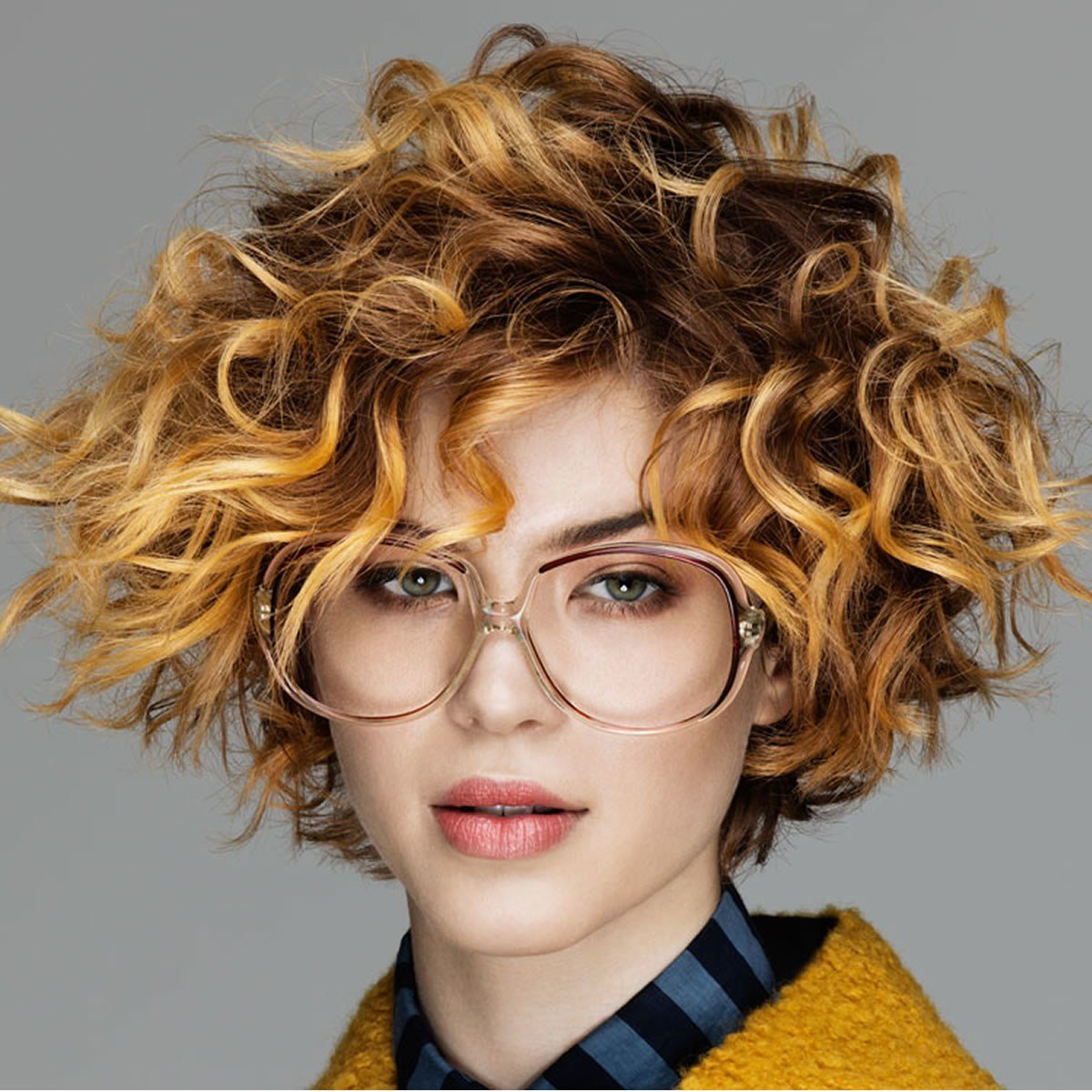 The Best Short Curly Haircuts For Long Faces Short And Cuts Hairstyles Pictures