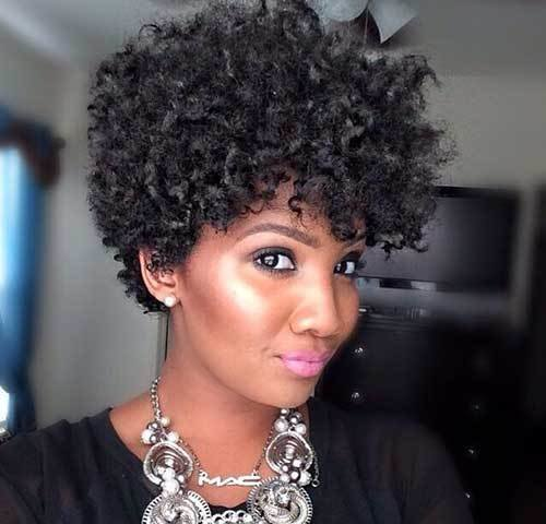 The Best Good Natural Black Short Hairstyles Pictures