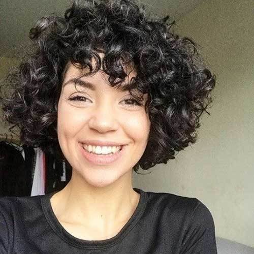 The Best 20 Latest Short Curly Hairstyles For 2018 Pictures