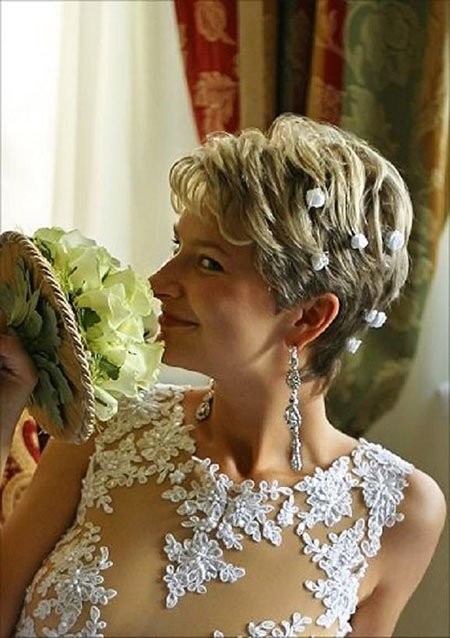 The Best 23 Bridal Hairstyles For Short Hair Pictures