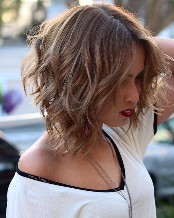 The Best 45 Short Wavy Hairstyles 2018 2019 Pictures