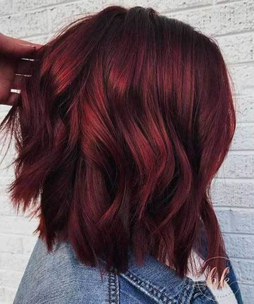 The Best Latest Trend Hair Color Ideas For Short Hair Short Pictures
