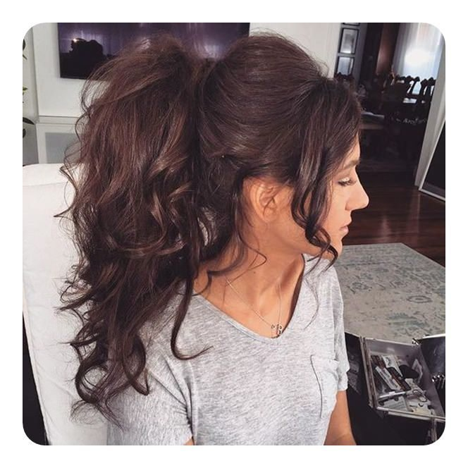 The Best 97 Amazing Ponytail With Bangs Hairstyles Pictures