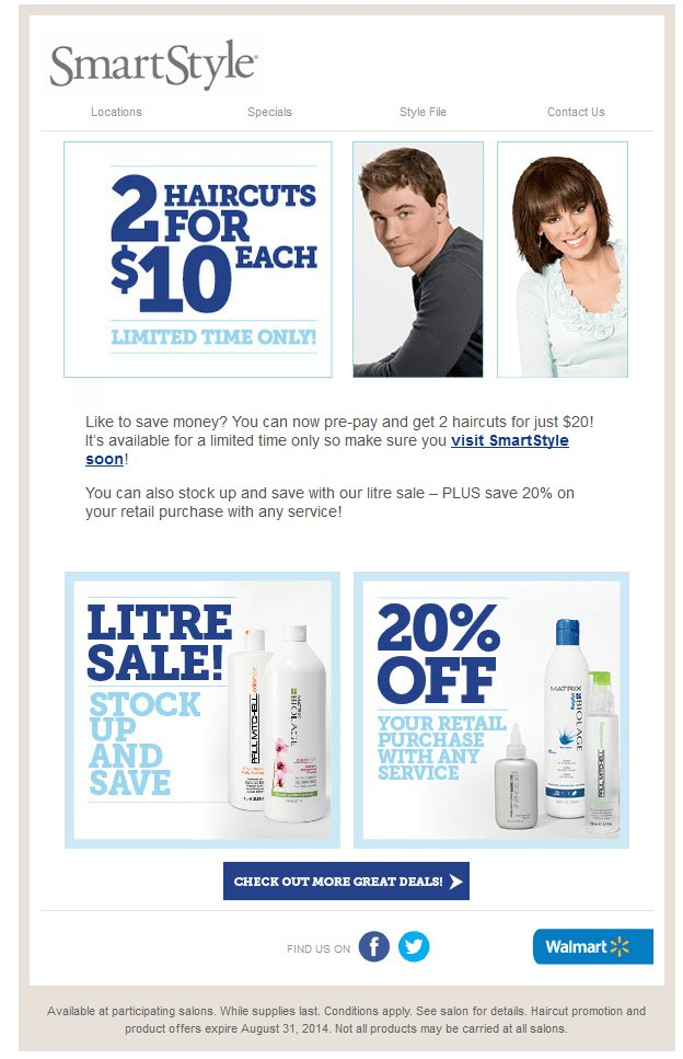 The Best Walmart Hair Salon Coupons 2015 Walmart Hair Salon Coupons Pictures