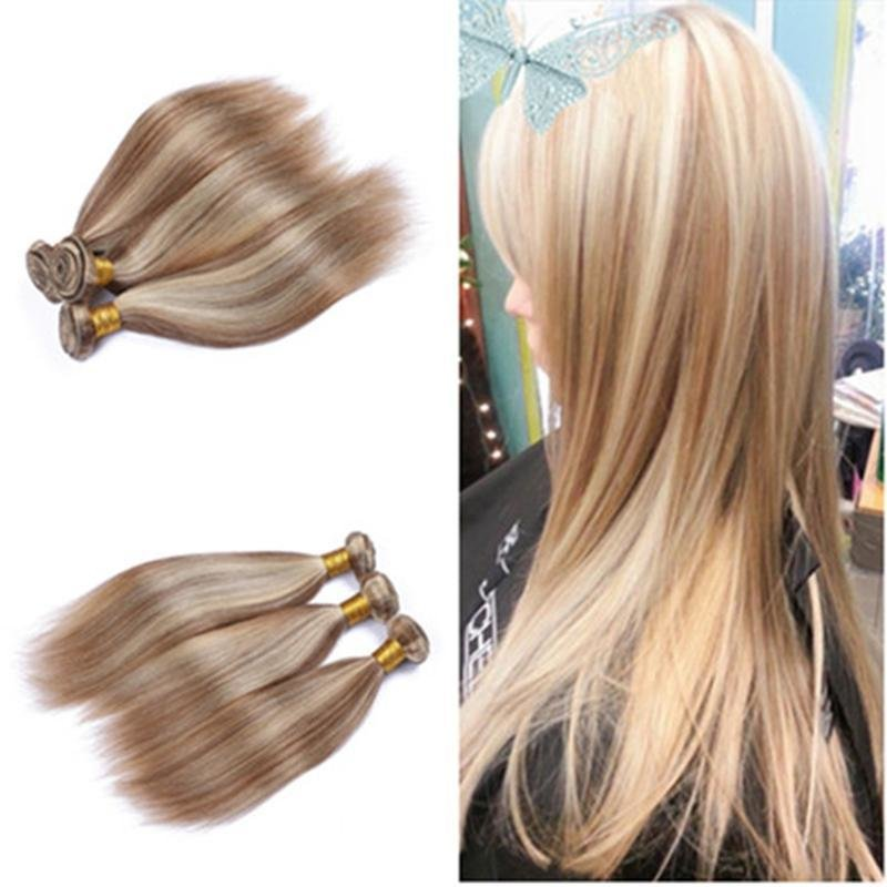 The Best Mixed Piano Color Hair Weave Bundles Silky Straight Pictures