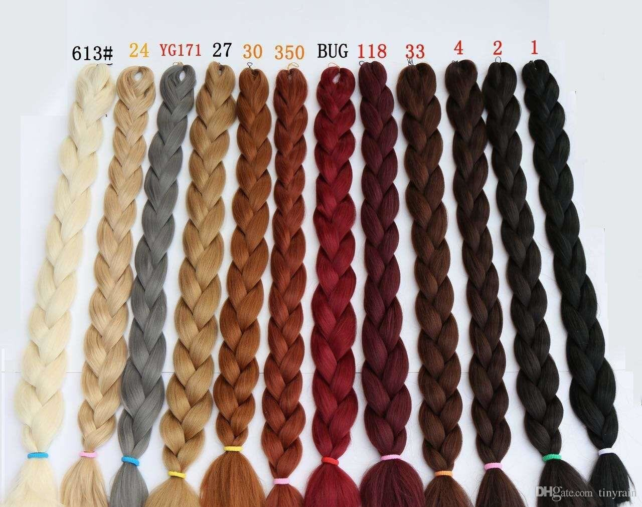 The Best Kanekalon Hair X Braid Ultra Volume 82Inch 165G Multi Pictures