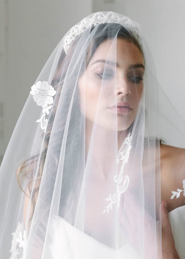 The Best Top 8 Wedding Hairstyles For Bridal Veils Pictures
