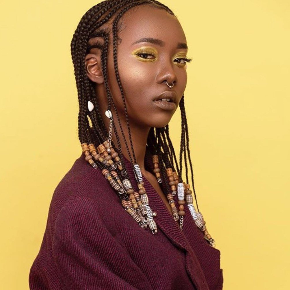The Best Braids With Beads Inspiration Essence Pictures