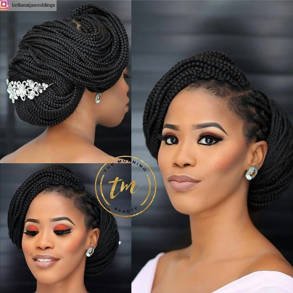 The Best Bridal Hairstyles For Natural Hair Essence Pictures