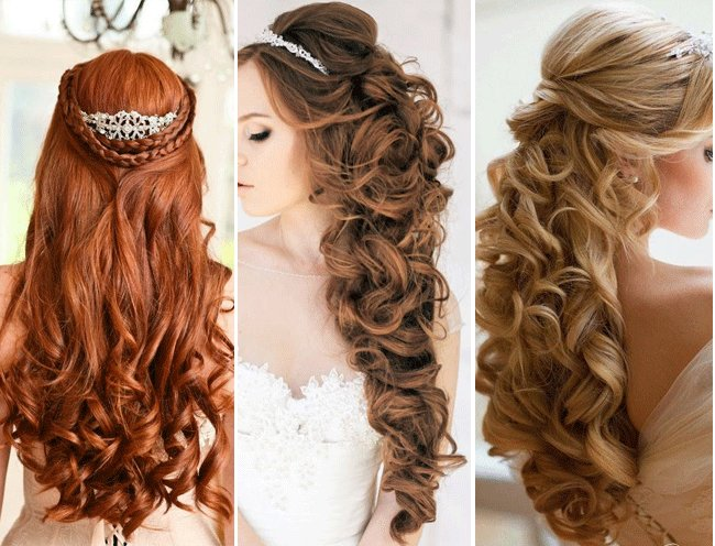 The Best Top 4 Half Up Half Down Wedding Hairstyles Pictures