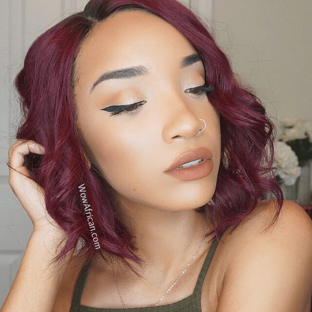 The Best Beyonce Inspired Bob Style Brazilian 99J Auburn Hair Pictures