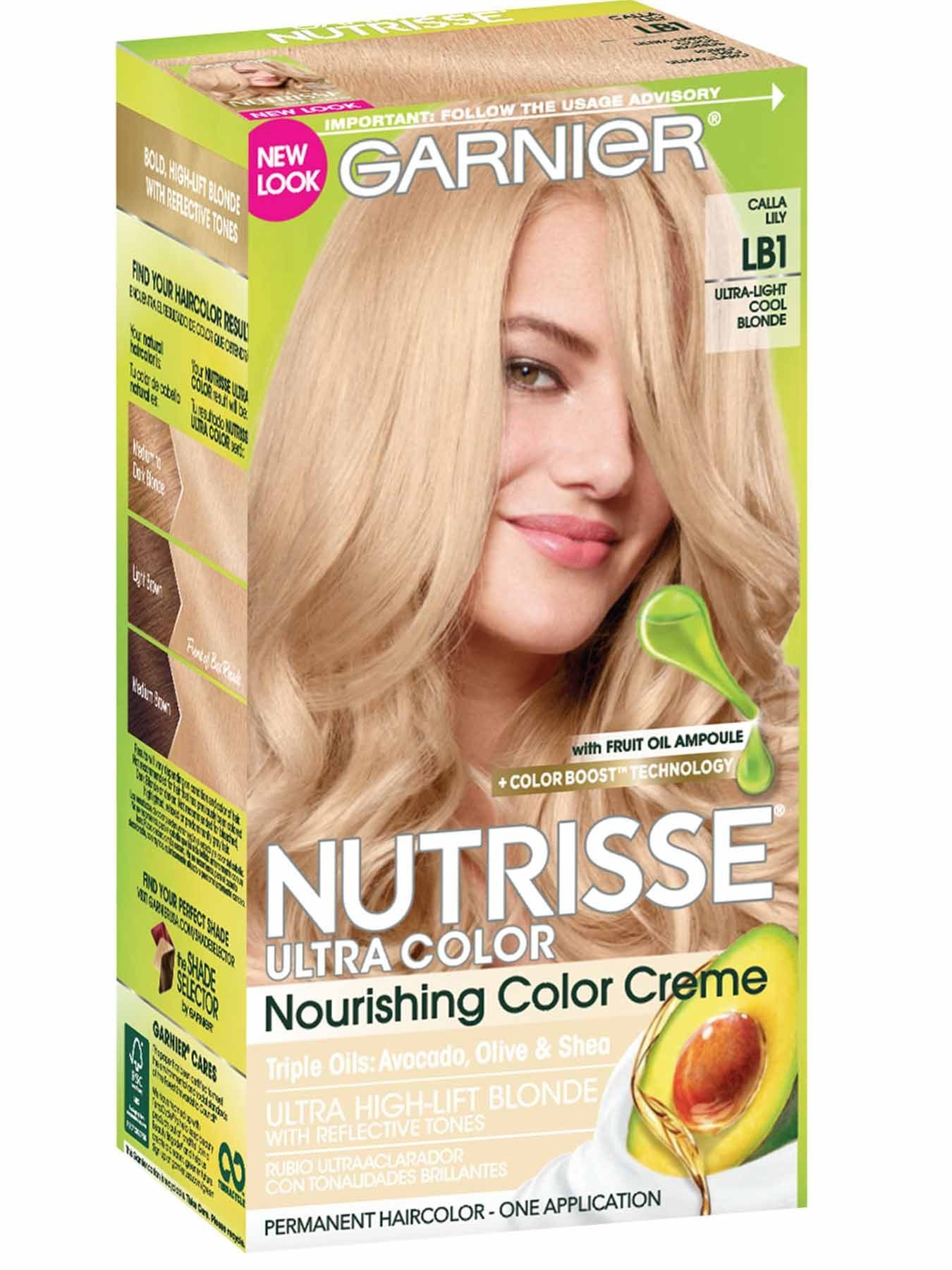 The Best Nutrisse Ultra Color Ultra Light Cool Blonde Hair Color Pictures