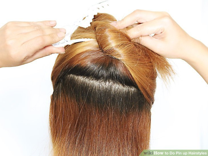 The Best 3 Ways To Do Pin Up Hairstyles Wikihow Pictures